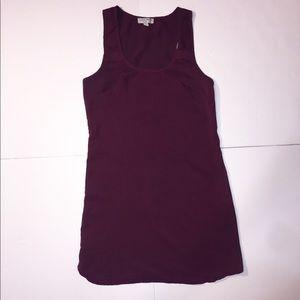 Cotton On Solid Mini Slip On Dress Sleeveless